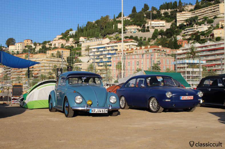 1961 VW Beetle and Type 3
