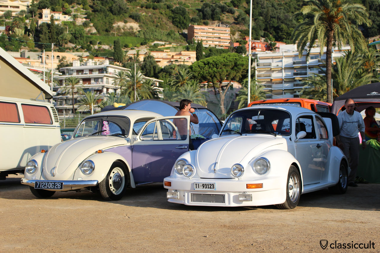 Classic VW Beetle with spoiler