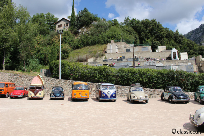 Menton Cox Meeting 2014, Classic VWs in Gorbio