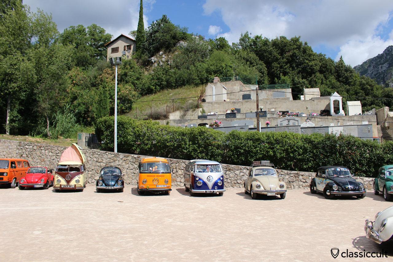Menton Cox Meeting 2014, Classic VWs in Gorbio