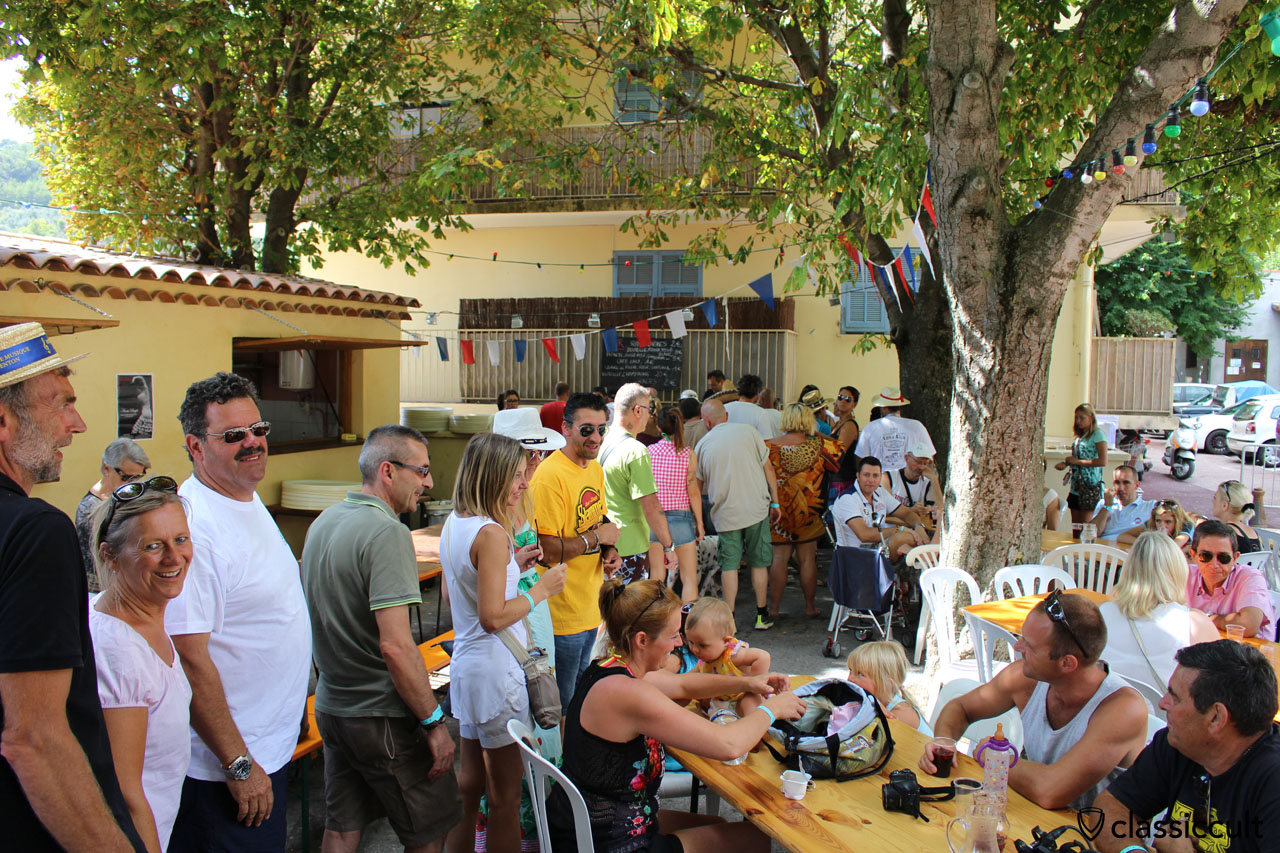 Cox d'Azur Club C.A.C and cold drink stop in Gorbio