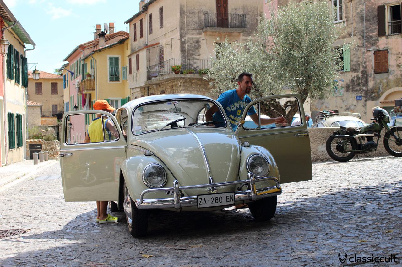 VW Cox in Gorbio