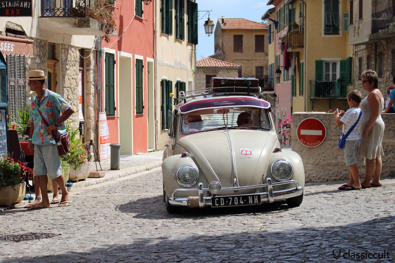 Cox d'Azur VW Meeting classic VW in Gorbio