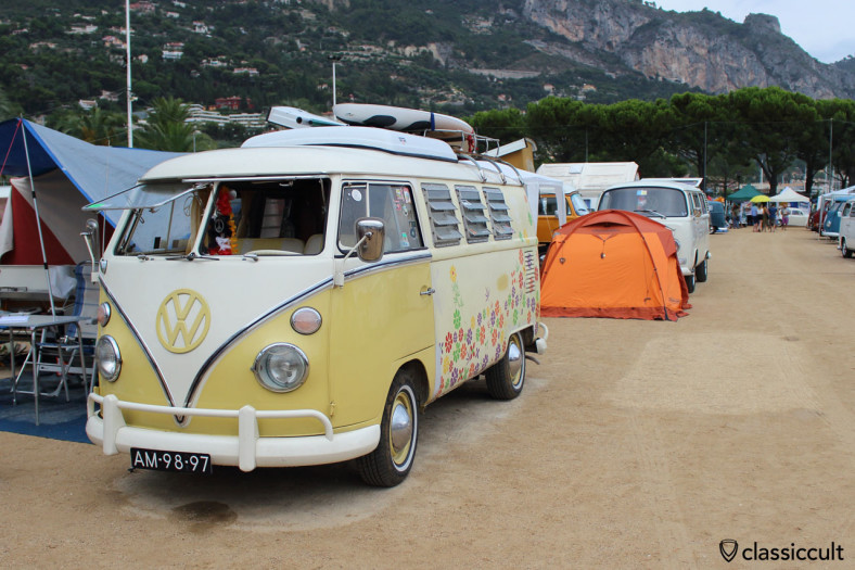 Menton VW Show, 2014-08-16, 18:20 and raining