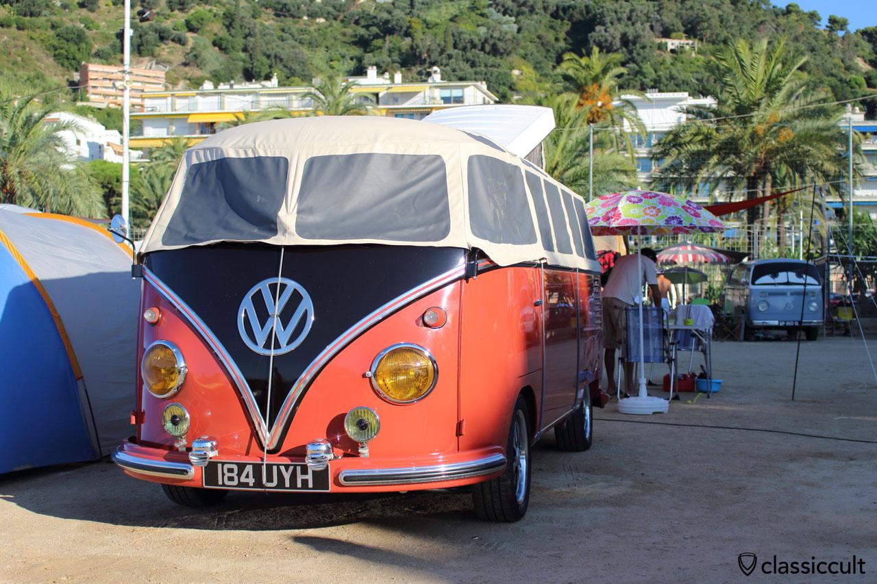 T1 Samba Bus, Menton, 2014-08-17, 8:30 a.m.
