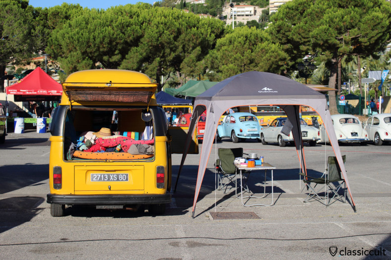 Camper Van at Menton VW Meeting