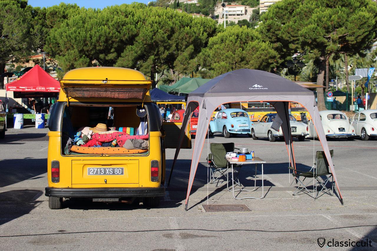 Camper Van at Menton VW Meeting