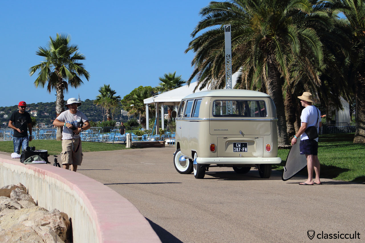 T2 Combi photo shoot Menton French Riviera 2014