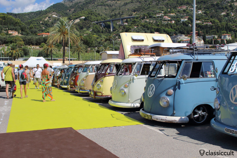 VW T1 Line Up Cox d'Azur