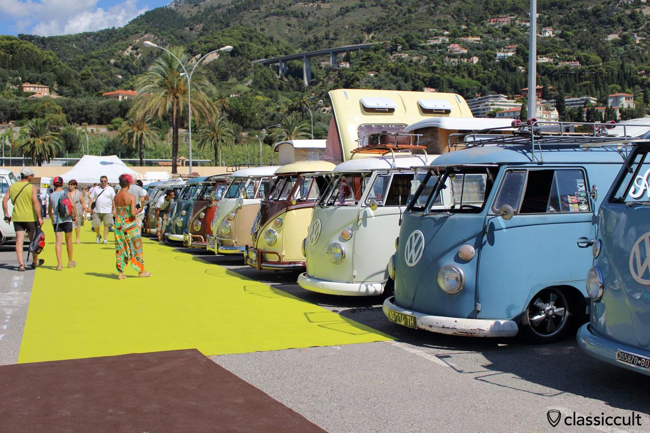 VW T1 Line Up Cox d'Azur