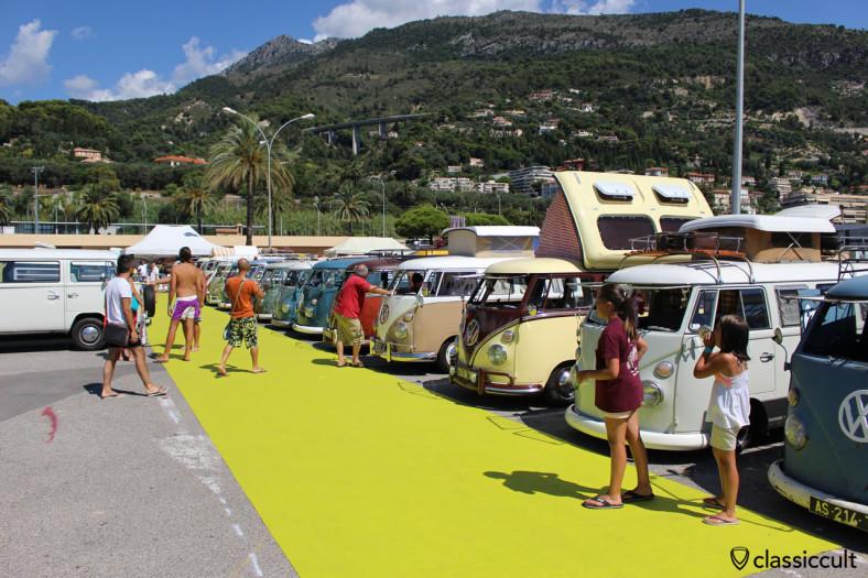 Menton Volkswagen Show French Riviera