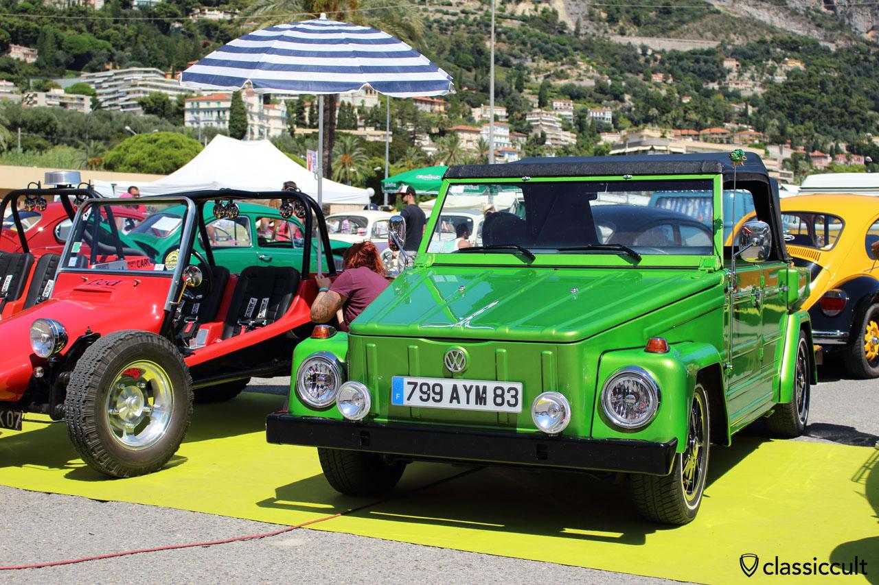 nice VW 181 with fog lights
