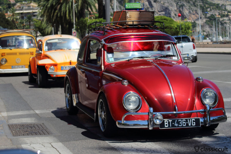 VW Beetle at Cox d'Azur Parade