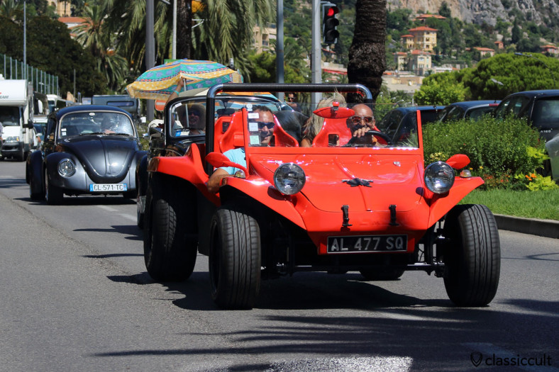 VW Buggy at Parade Cox d'Azur