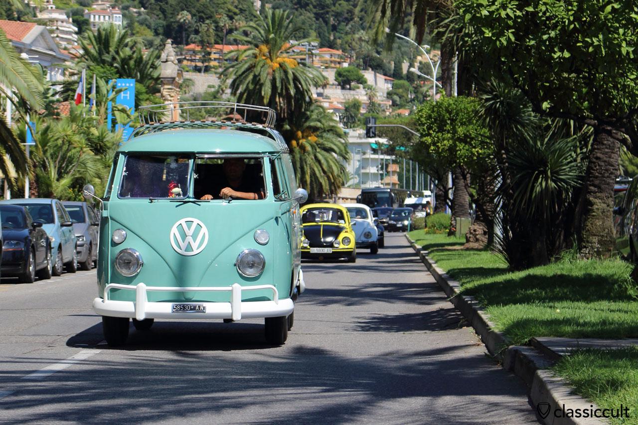 VW T1 Bus at Cox d'Azur Parade
