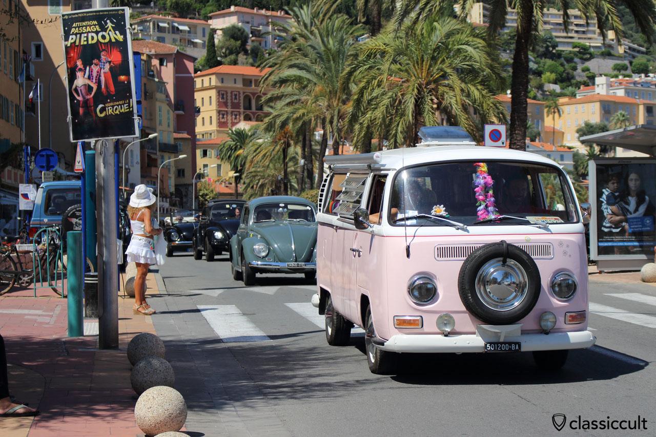 VW Parade MENTON French Riviera 2014