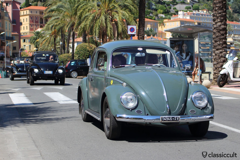 VW Parade MENTON French Riviera 2014