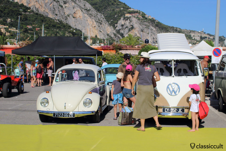 Getting ready to ride home from Menton VW Cox Show, 2014-08-17, time 17:11