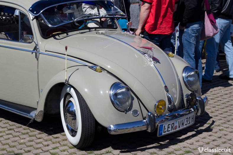 VW bug with perohaus fender flagpole - MKT 2011