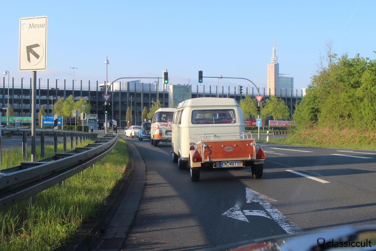 Maikäfertreffen 2015 Anfahrt Messeparkplatz