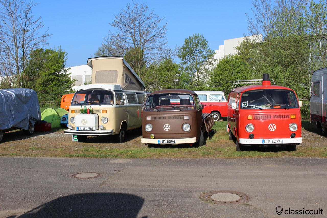 VW T2 Camper, Pritsche und Feuerwehr Kastenwagen