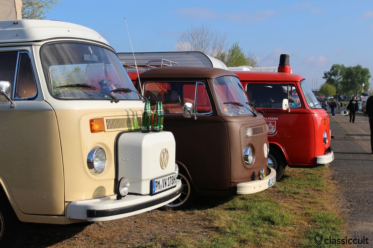 Nase vom 1978 VW Westfalia
