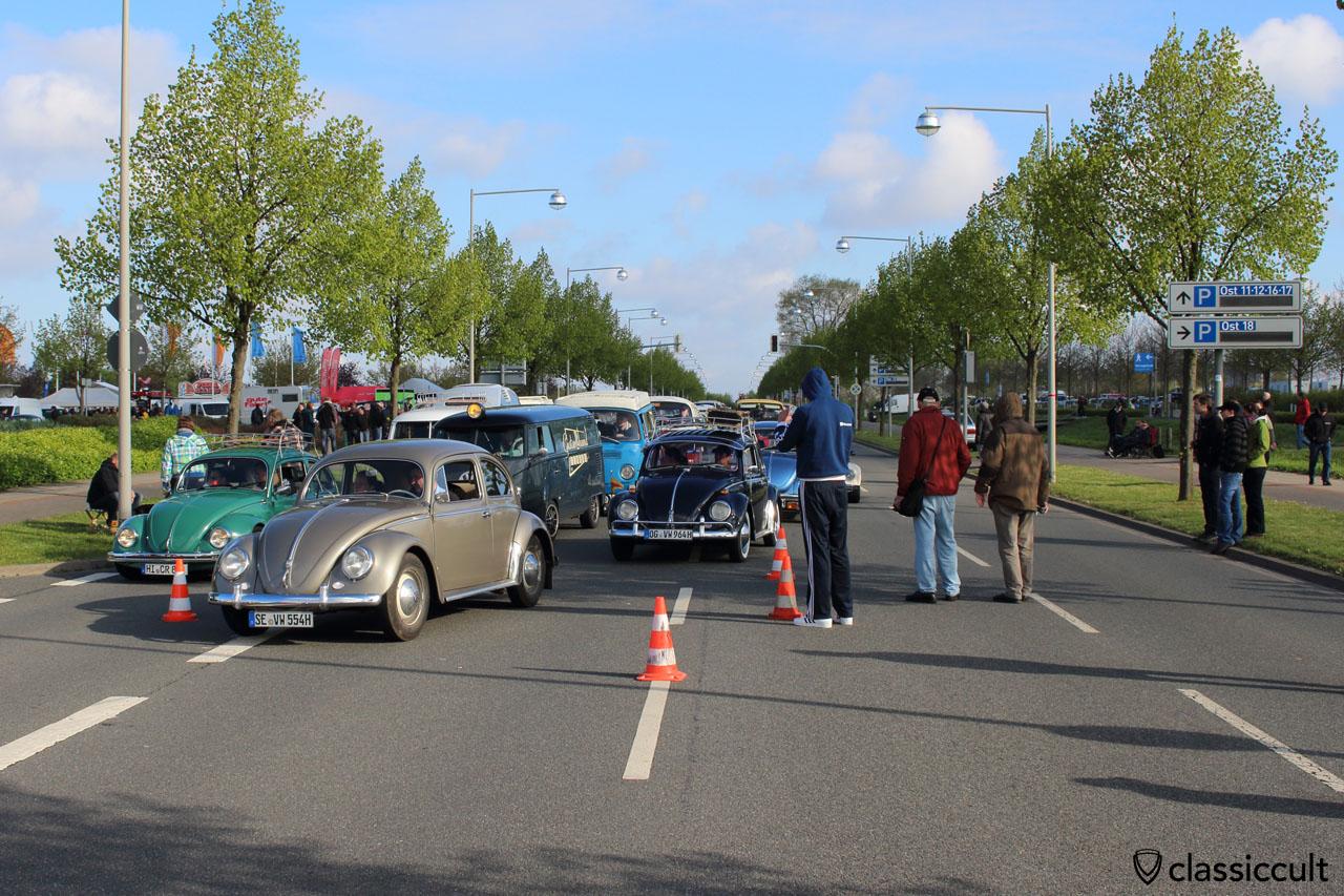 1955 VW Ovali, front