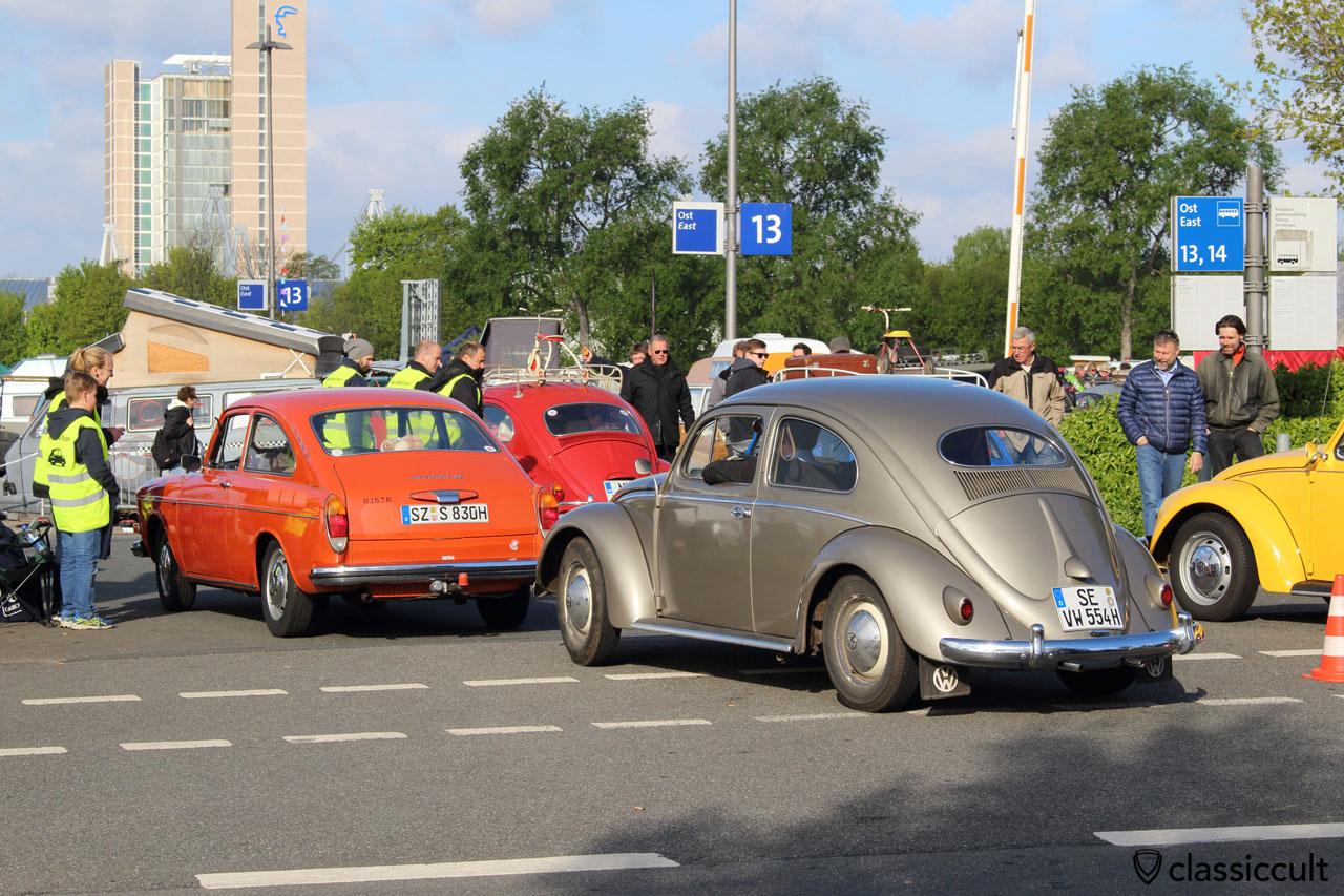 1955 VW Ovali, heck