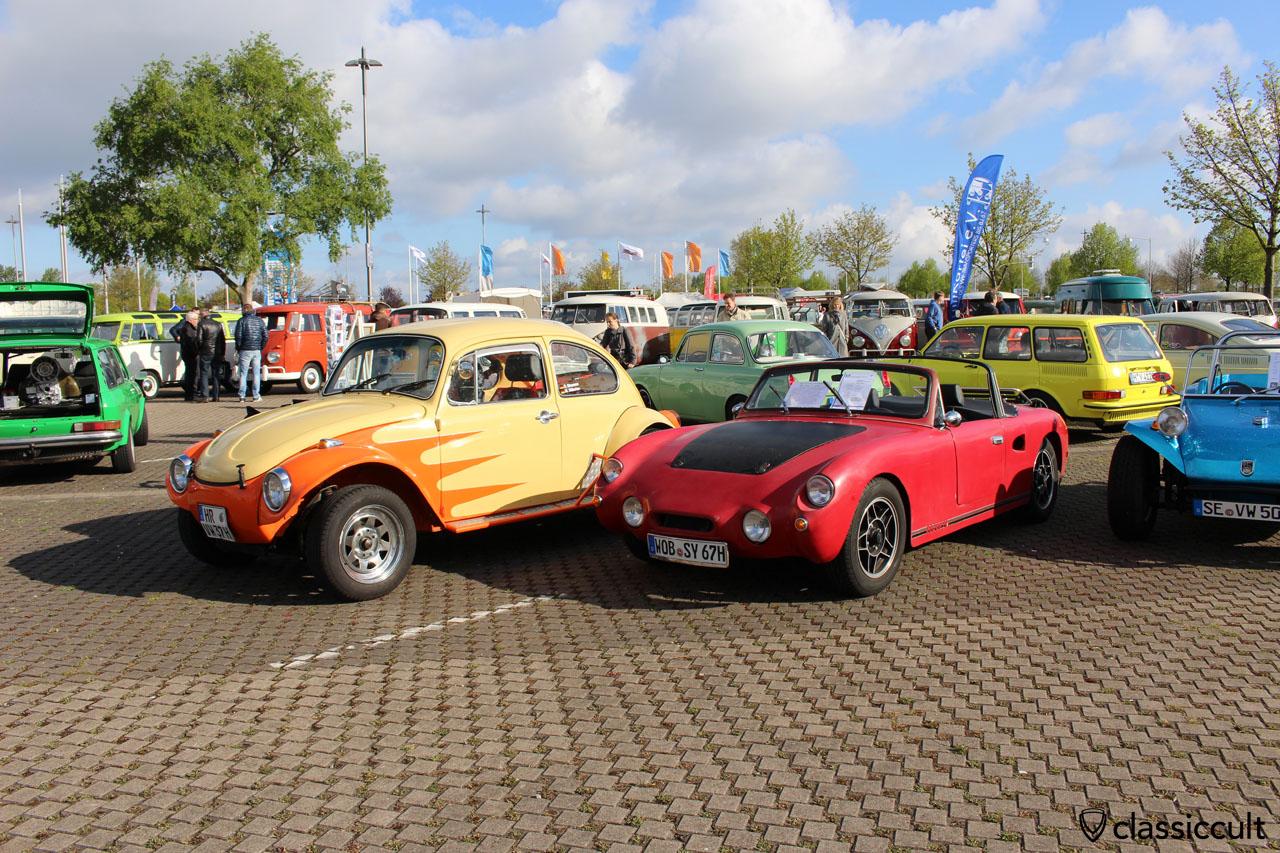 """VW Streaker und 1967 VW 1500 Eigenbau """"Sunny"""" aus Schweden"""