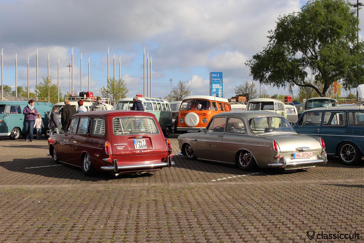 VW Typ 3, tief