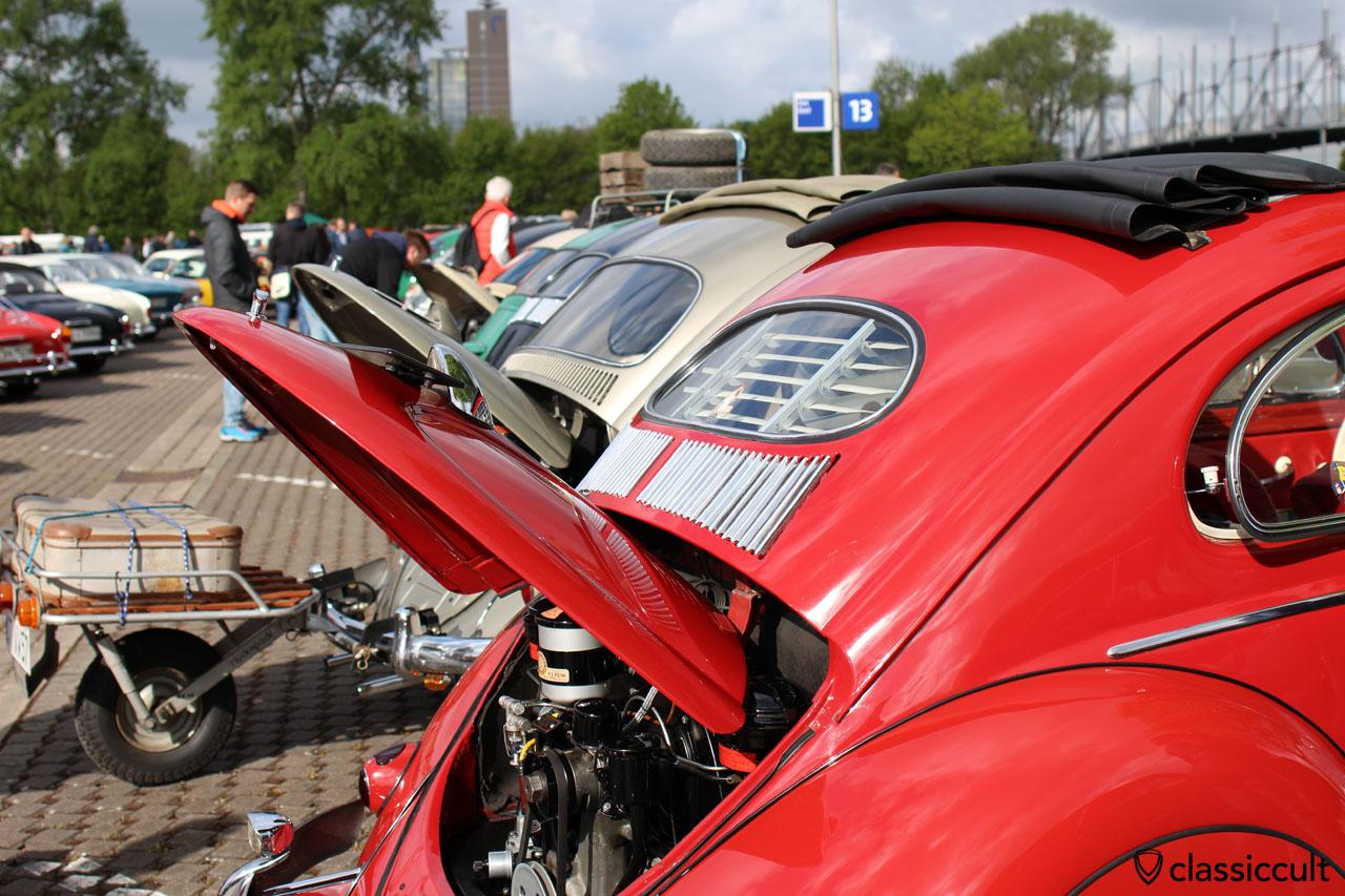 VW Ovali Käfer Heck