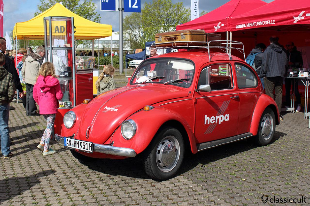HERPA Miniaturmodelle Show Käfer