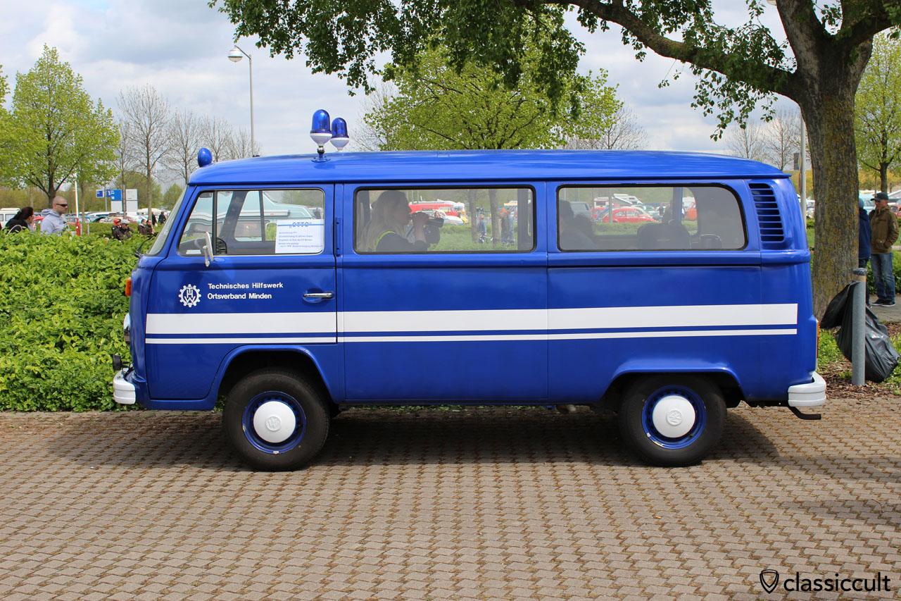 THW Minden VW T2 Bus 1977