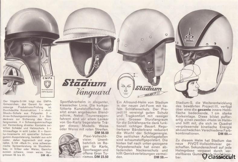 vintage Stadium Rallye helm (like the famous Roemer Race Helm)