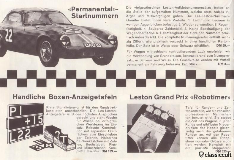 Leston Grand Prix Robotimer (325 DM)