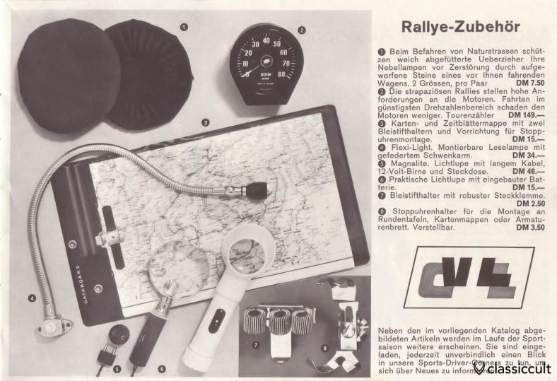 Rallye accessories, Flexi Light
