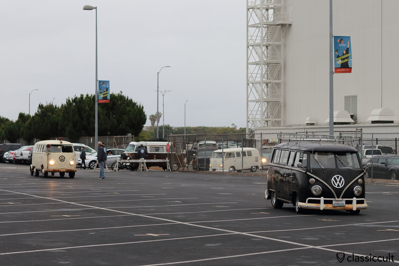 VW Buses arriving at O.C.T.O. 2016