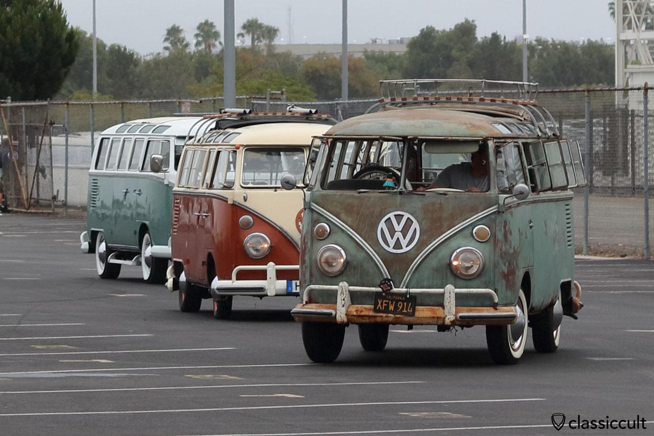 Three Samba Buses