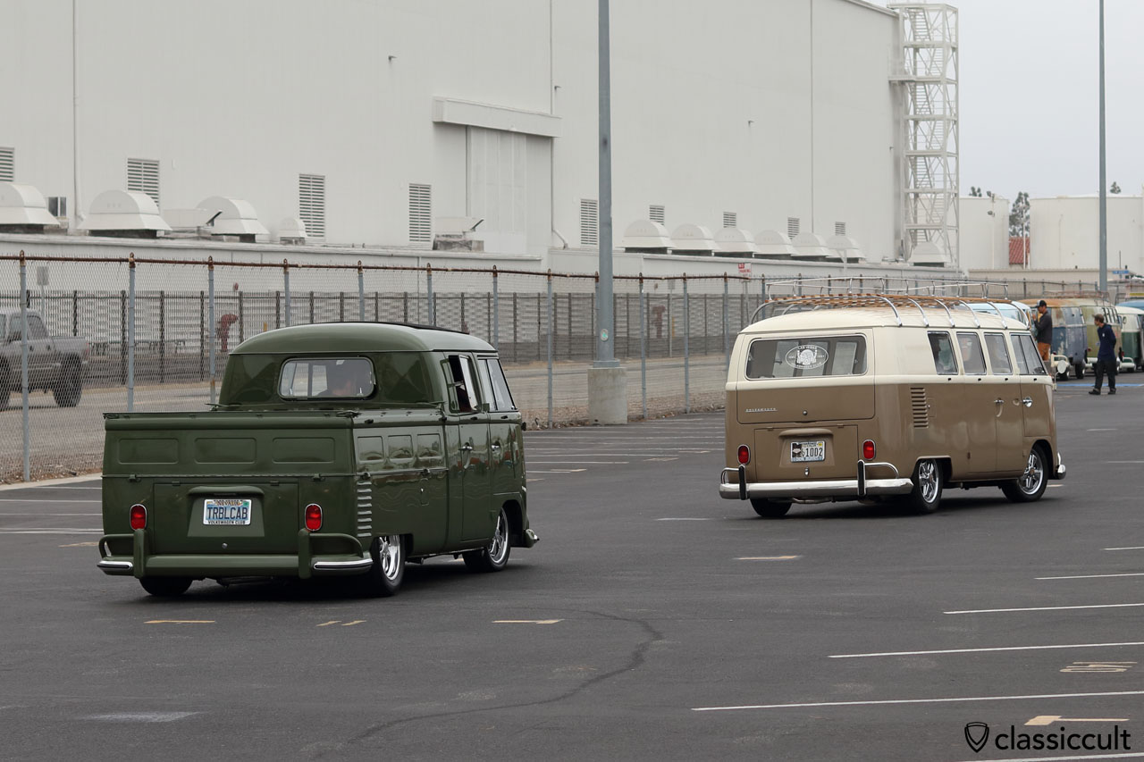 low VW double cab