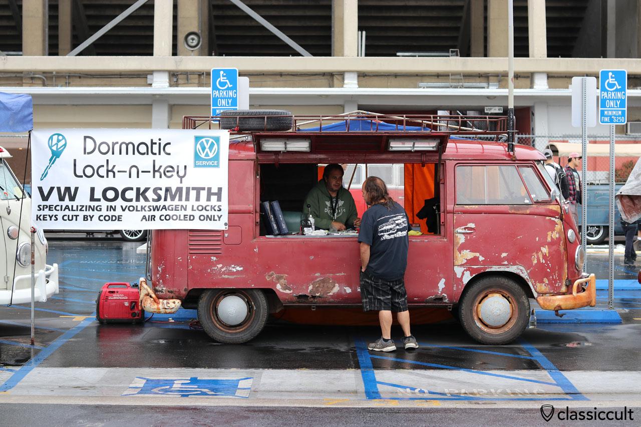 VW Locksmith, Dormatic Lock-n-key, air cooled only