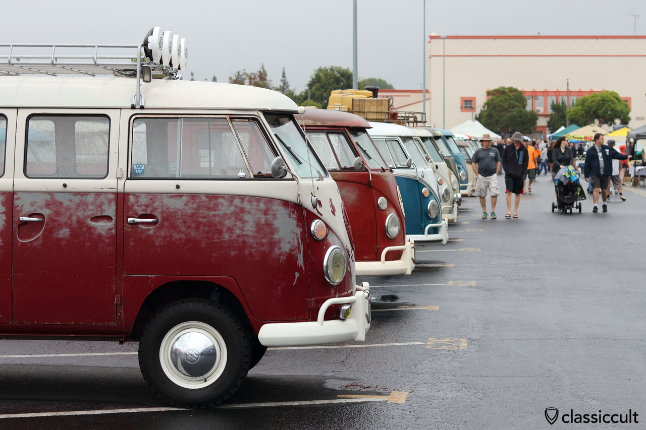 OCTO Show & Shine VW Bus line