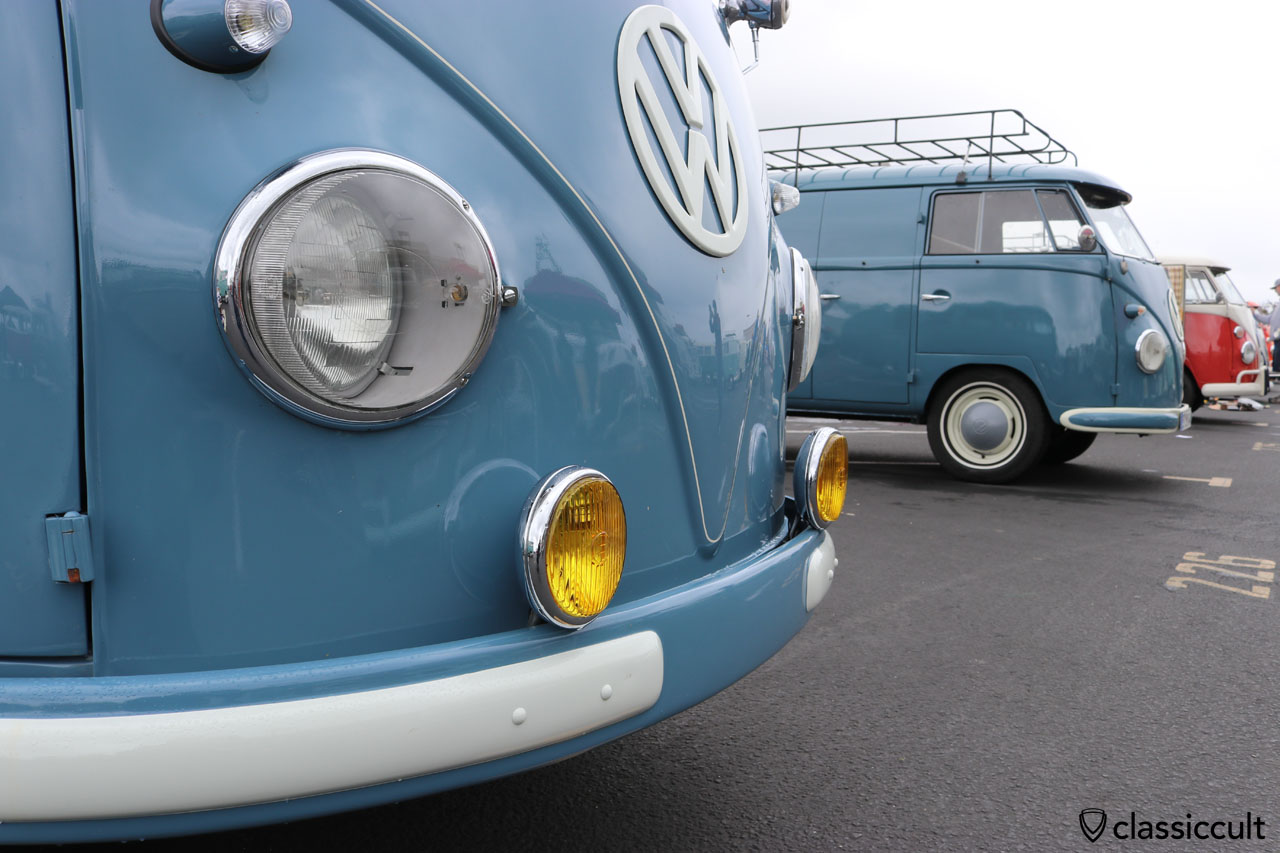 T1 Bus with yellow Bosch fog lights