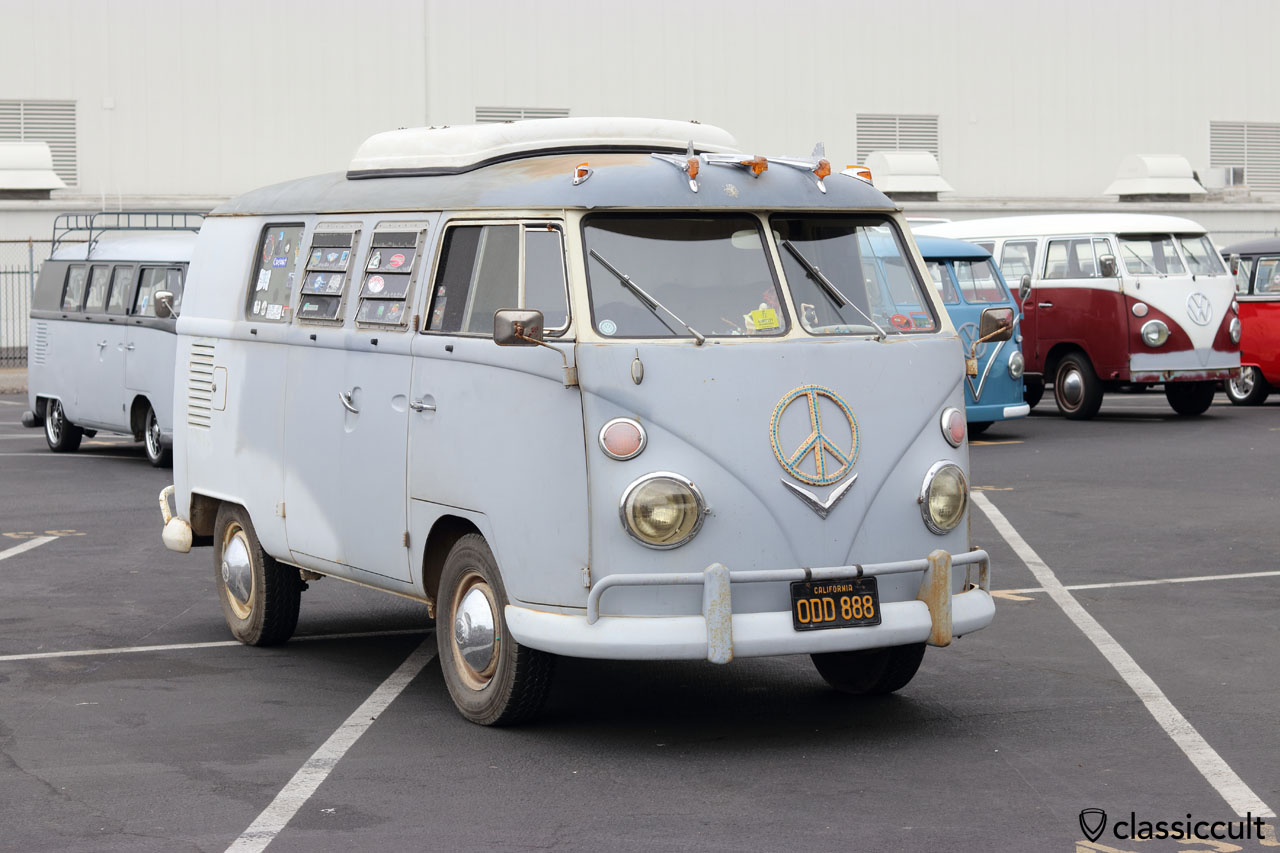 VW T1 Peace Camper