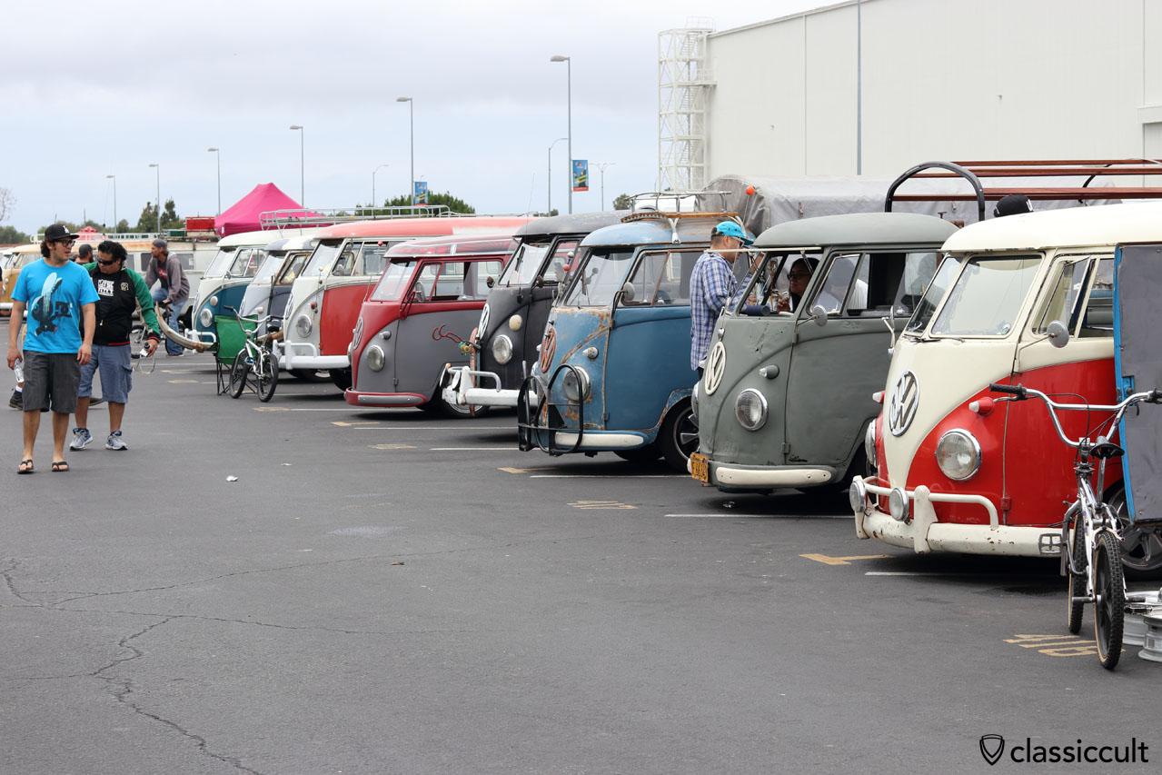 Split Buses at O.C.T.O. Meet