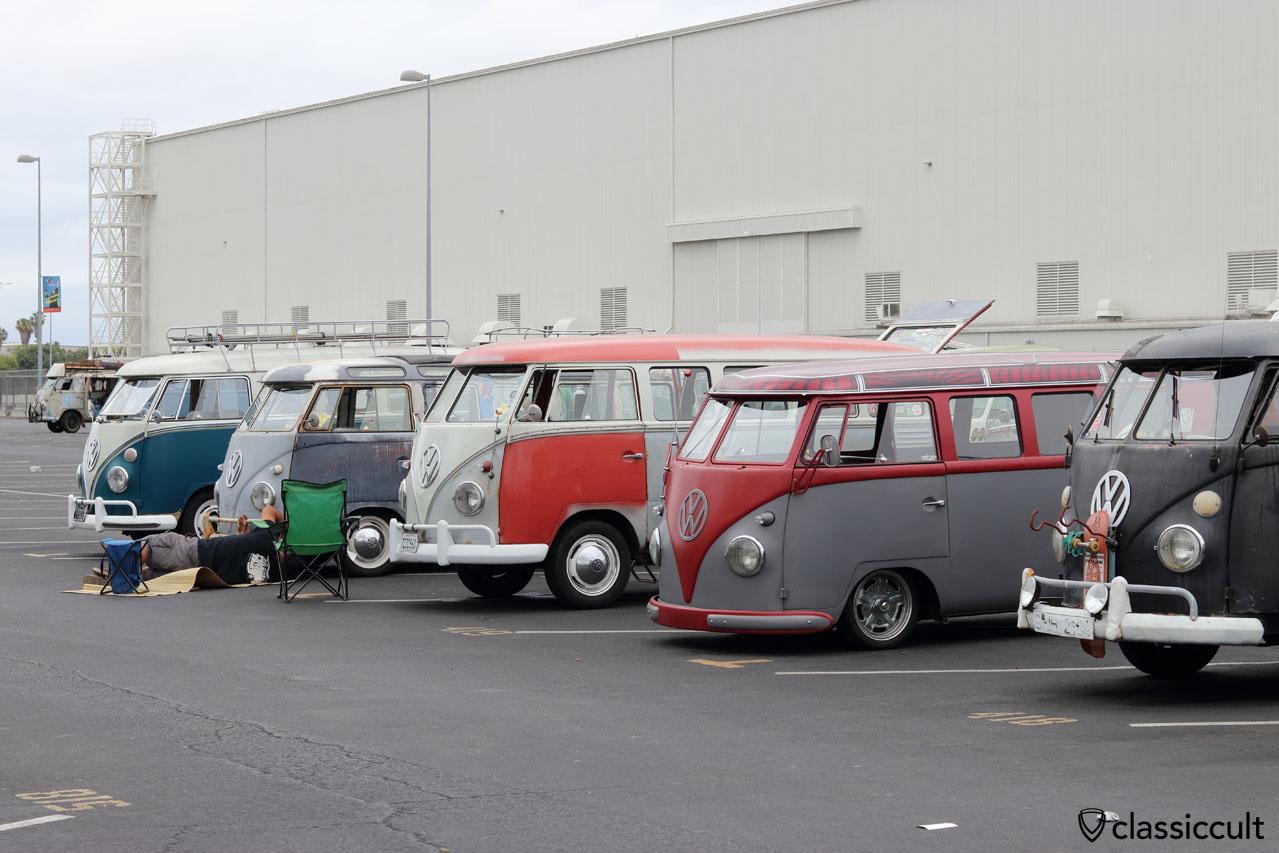 VW Split Buses at OCTO Meet