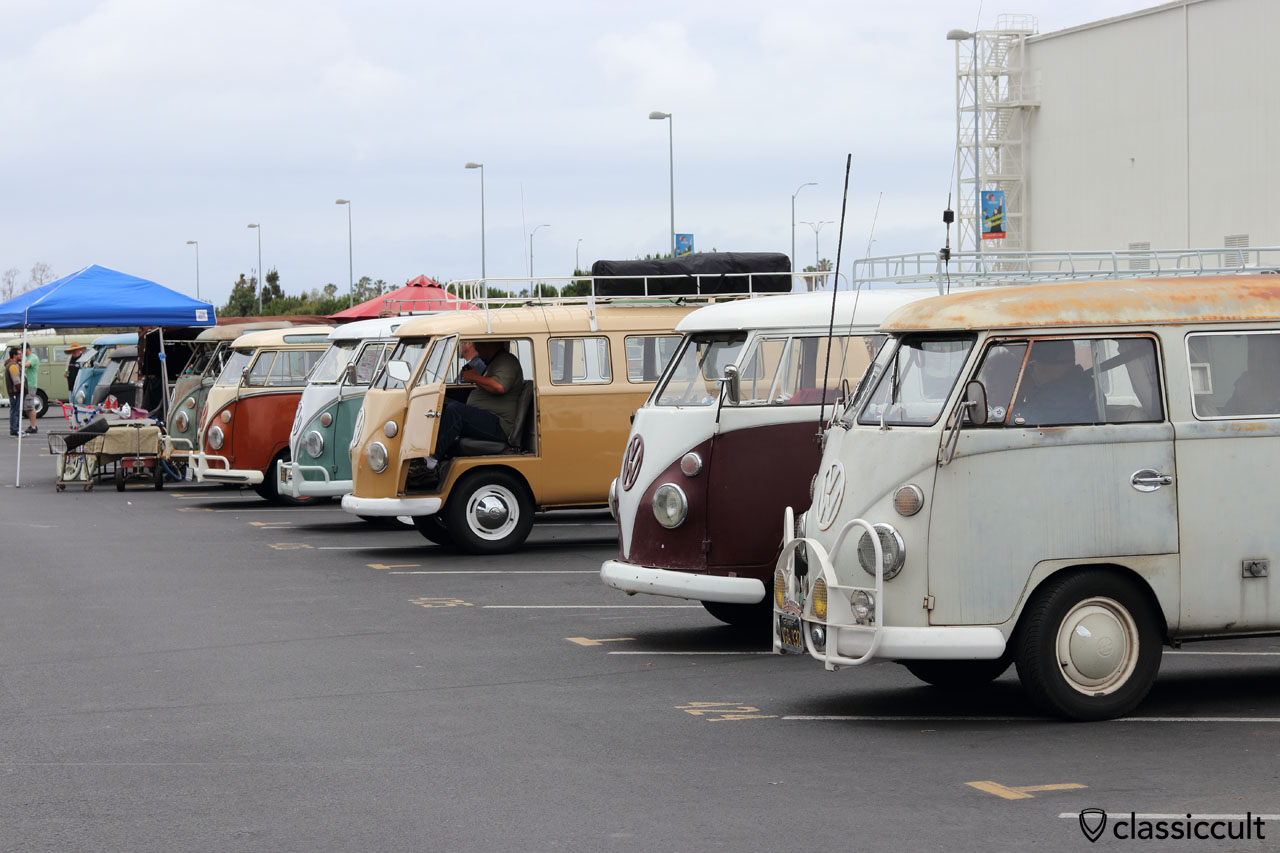 VW Split Bus line at OCTO Show