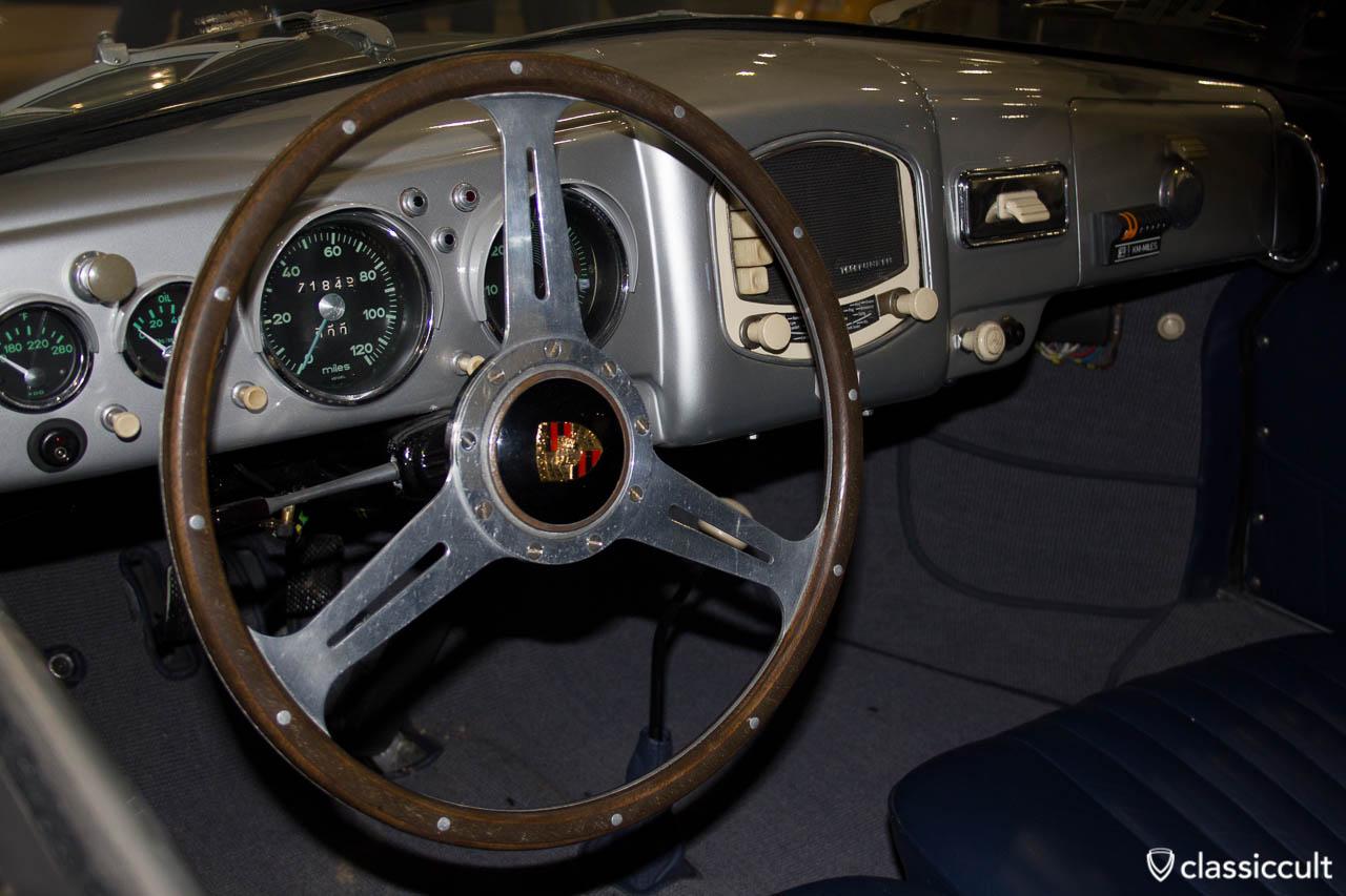 Porsche 356a Armaturenbrett