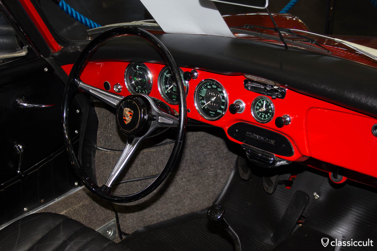 Porsche 356 Armaturenbrett, Bremen Classic 2013