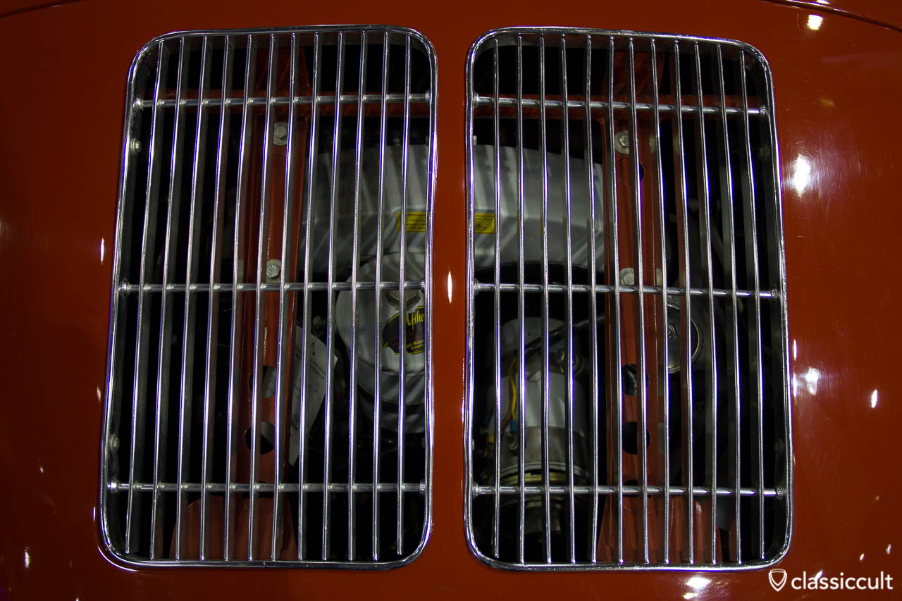 Porsche 356 Motor Grill