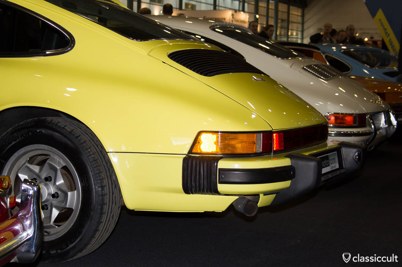 Porsche 911 Heck Ansicht